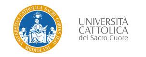 Univesità Cattolica del Sacro Cuore | Formazione Sabrina Silvestrini